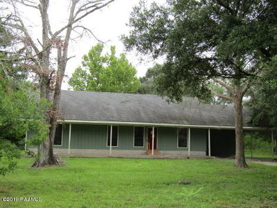 Carencro  Single Family Home For Sale: 107 Simon Latour Road