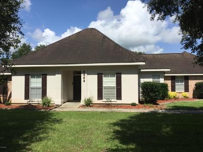 Carencro  Single Family Home For Sale: 5399 N University Avenue