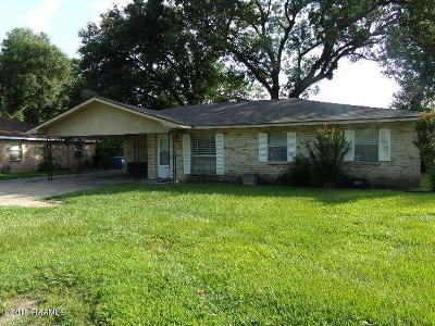 Lafayette  Single Family Home For Sale: 111 Eula Drive