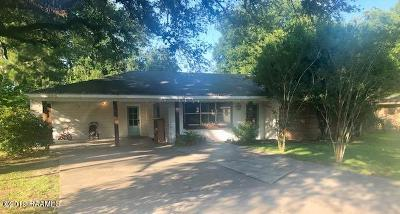 Lafayette  Single Family Home For Sale: 310 Sunny Lane