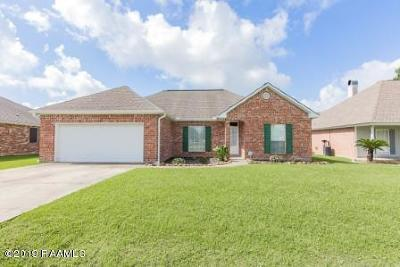 broussard Single Family Home For Sale: 207 Sugar Trace Drive
