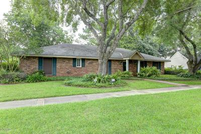 Youngsville Single Family Home For Sale: 219 Chemin Metairie Road