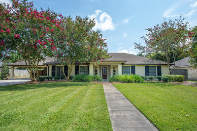 Lafayette Single Family Home For Sale: 705 Brentwood Boulevard