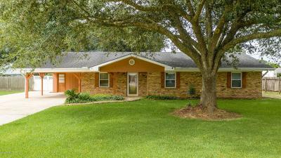Iberia Parish Single Family Home For Sale: 7807 Jeromy Drive Drive