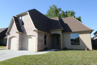 Lafayette Single Family Home For Sale: 217 Oats Drive