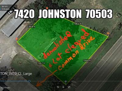 Lafayette Residential Lots & Land For Sale: 7420 Johnston Street