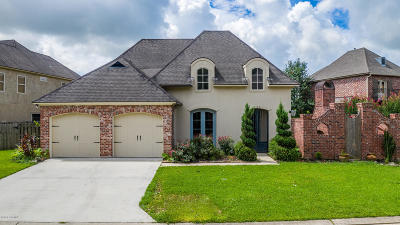Youngsville Single Family Home For Sale: 303 La Villa Circle