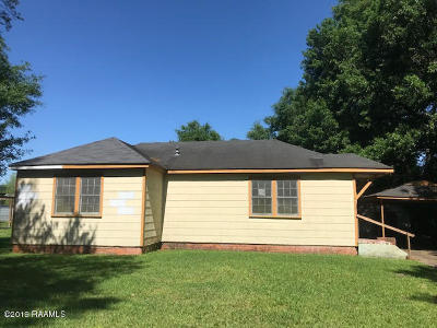 Opelousas Single Family Home For Sale: 1255 Cherokee Drive