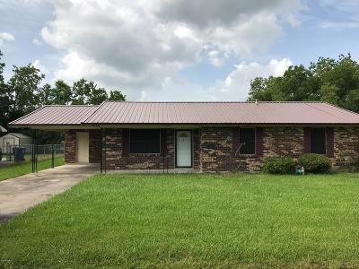 Opelousas Single Family Home For Sale: 199 Ebony Drive