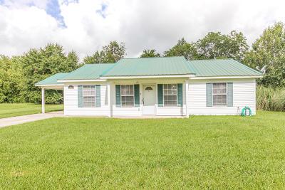 Opelousas Single Family Home For Sale: 124 Milo Lane