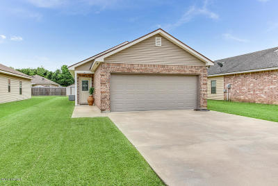 Carencro  Single Family Home For Sale: 205 Bottle Brush Lane