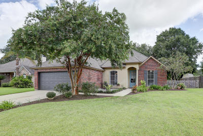 broussard Single Family Home For Sale: 226 Barksdale Drive
