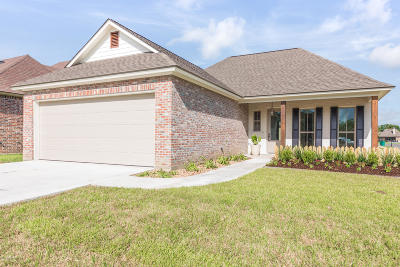 broussard Single Family Home For Sale: 300 Channel Drive