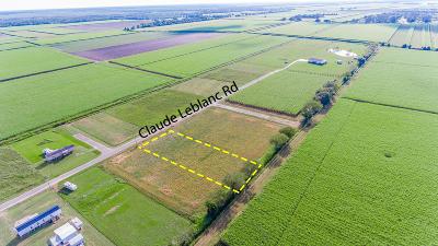 Iberia Parish Residential Lots & Land For Sale: 7 Claude Leblanc Road