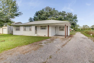 Iberia Parish Single Family Home For Sale: 7716 Weeks Island Road