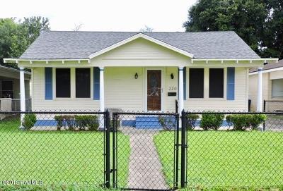 Lafayette Single Family Home For Sale: 220 W Foch Street