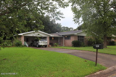 Lafayette Single Family Home For Sale: 201 S Demanade Boulevard