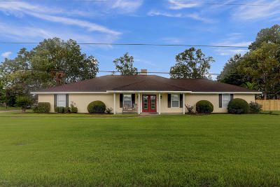 St. Martinville Single Family Home For Sale: 1023 Alexander Road