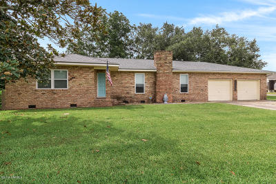 Iberia Parish Single Family Home For Sale: 2110 Coteau Road