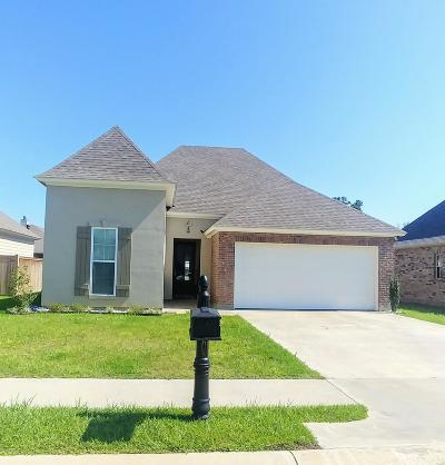 Carencro Single Family Home Active/Contingent: 108 Safe Haven Drive