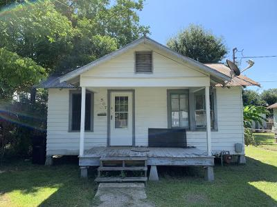 Kaplan Single Family Home For Sale: 507 N Lemaire