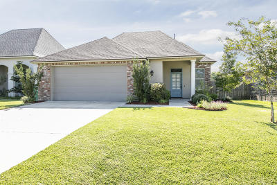 broussard Single Family Home Active/Contingent: 204 Overbrook Drive