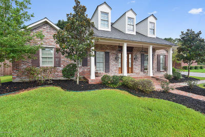 Lafayette Single Family Home For Sale: 109 Gated Trinity Court