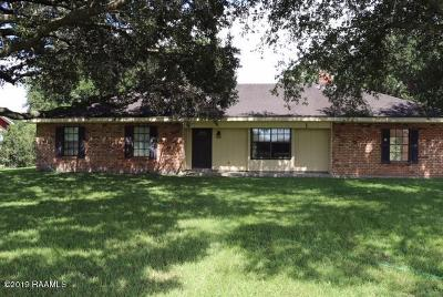 Church Point Single Family Home For Sale: 2960 Higginbotham Hwy