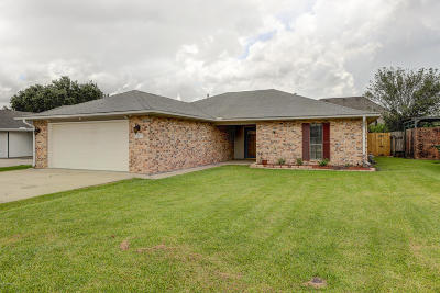 New Iberia Single Family Home For Sale: 1512 Hickory Drive