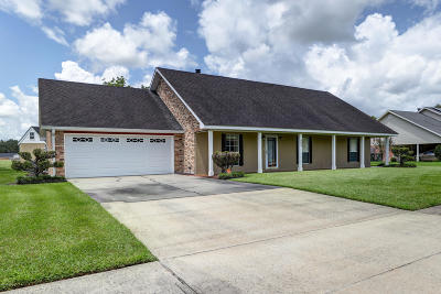 New Iberia Single Family Home For Sale: 803 Dartez Drive