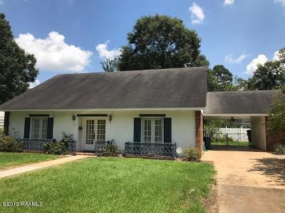 Ville Platte Single Family Home For Sale: 115 S Ardoin Street