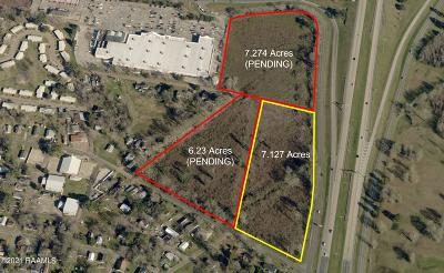 St Martinville, Breaux Bridge, Opelousas Residential Lots & Land For Sale: Tbd S I-49 Service Road