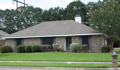 Carencro  Single Family Home For Sale: 405 Rue Colombe