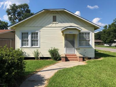 Ville Platte Single Family Home For Sale: 501 W Lasalle Street