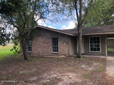 Carencro Rental For Rent: 319 Walter Drive