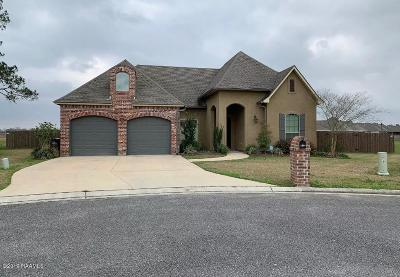 New Iberia Single Family Home Active/Contingent: 3400 Chuggie Lane