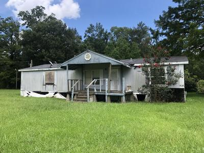 Jeanerette Single Family Home For Sale: 604 Cypress Lane