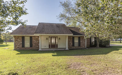 Eunice Single Family Home For Sale: 171 Jeff Thibodeaux Road