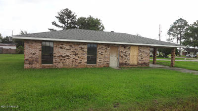 New Iberia Single Family Home For Sale: 2212 Grand Prairie Road
