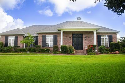 Iberia Parish Single Family Home For Sale: 7516 Lakewood Drive