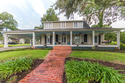 Abbeville Single Family Home For Sale: 305 E St. Victor Street