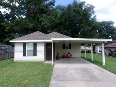 Carencro  Single Family Home For Sale: 107 Rojean Drive