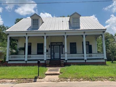 Ville Platte Single Family Home For Sale: 119 N Reed Street