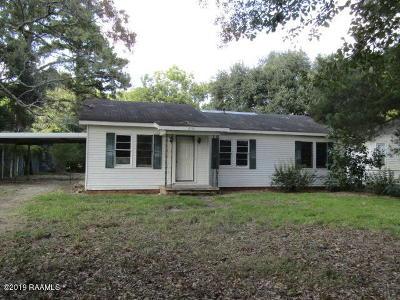 Single Family Home For Sale: 185 Derouen Avenue