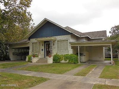Vermilion Parish Single Family Home For Sale: 213 N Lejeune