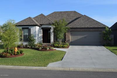 Broussard Single Family Home For Sale: 414 Easy Rock Landing Drive