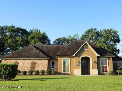 St Martinville, Breaux Bridge, Opelousas Single Family Home For Sale: 280 Grande Rue De Josh