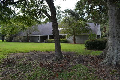 New Iberia Single Family Home For Sale: 1800 Loreauville Road