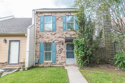Single Family Home For Sale: 208 Long Plantation Boulevard #D