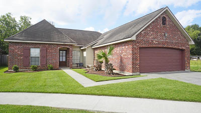 Carencro  Single Family Home For Sale: 107 Nestling Cove